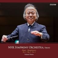 交響曲第1番、第2番、第3番、『威風堂々』第1番、序奏とアレグロ、序曲『フロワサール』 尾高忠明&NHK交響楽団(1975-2013)(3CD)