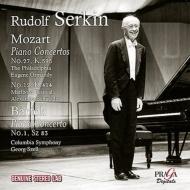 モーツァルト:ピアノ協奏曲第27番、第12番、バルトーク:ピアノ協奏曲第1番 ルドルフ・ゼルキン、オーマンディ、A.シュナイダー、セル