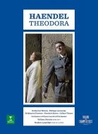 『テオドーラ』全曲 S.ラングリッジ演出、ウィリアム・クリスティ&レザール・フロリサン、キャサリン・ワトソン、フィリップ・ジャルスキー、他(2DVD)