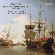 弦楽四重奏曲集作品54、作品55 ロンドン・ハイドン四重奏団(2CD)