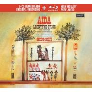 『アイーダ』全曲 ゲオルグ・ショルティ&ローマ歌劇場、レオンティーン・プライス、ジョン・ヴィッカーズ、他(1961 ステレオ)(2CD+ブルーレイ・オーディオ)