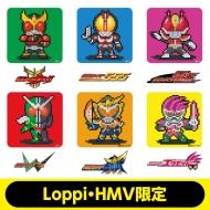 Mr.ドットマン 缶バッジセット(平成ライダーver.)【Loppi限定】
