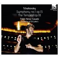 交響曲第1番『冬の日の幻想』、幻想序曲『テンペスト』 パブロ・エラス=カサド&セントルークス管弦楽団