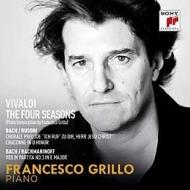ヴィヴァルディ:四季、バッハ:無伴奏ヴァイオリンのためのパルティータ第3番より(ピアノ版) フランチェスコ・グリッロ