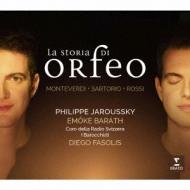 La Storia Di Orfeo: Jaroussky(Ct)Barath(S)Fasolis / I Barocchisti