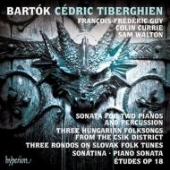 2台のピアノと打楽器のためのソナタ、ピアノ・ソナタ、ソナチネ、他 セドリック・ティベルギアン、フランソワ=フレデリク・ギィ、他