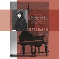 ピアノ協奏曲第20番:クララ・ハスキル(ピアノ)、ベルンハルト・パウムガルトナー指揮&ウィーン交響楽団 (アナログレコード/Vinyl Passion Classical)