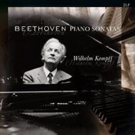 ピアノソナタ 第8,17,23,26,27番:ヴィルヘルム・ケンプ(ピアノ)(2枚組アナログレコード/Vinyl Passion Classical)