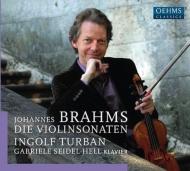ヴァイオリン・ソナタ第1番、第2番、第3番 インゴルフ・トゥルバン、ガブリエレ・ザイデル=ヘル