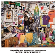 Superfly 10th Anniversary Greatest Hits 『LOVE, PEACE & FIRE』 【初回限定盤】 (4CD)