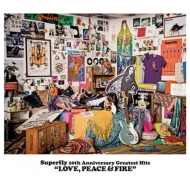 Superfly 10th Anniversary Greatest Hits 『LOVE, PEACE & FIRE』 【通常盤】 (3CD)