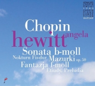 ピアノ・ソナタ第2番、前奏曲集、練習曲集、他 アンジェラ・ヒューイット(1980年第10回ショパン国際ピアノ・コンクール・ライヴ)