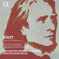 リスト:ファウスト交響曲 マルティン・ハーゼルベック、ウィーン・アカデミー管弦楽団