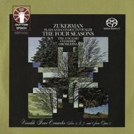 四季、ヴァイオリン協奏曲集 ピンカス・ズッカーマン、イギリス室内管弦楽団