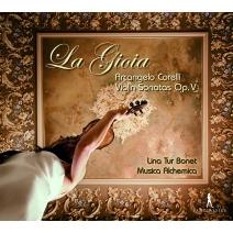Violin Sonatas Op, 5, : Lina Tur Bonet(Vn)Musica Alchemica