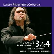 交響曲第3番、第4番 ヴラディーミル・ユロフスキー&ロンドン・フィル