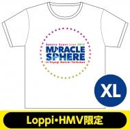 Tシャツ(XL)【Loppi・HMV限定】 / スフィアスーパーライブ2017 ミラクルスフィア