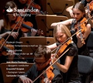 ドヴォルザーク:交響曲第8番、ショパン:ピアノ協奏曲第1番 ホセ・マリア・フロレンシオ&サンタンデール管弦楽団、クシシュトフ・クションジェク
