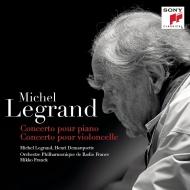 ピアノ協奏曲、チェロ協奏曲 ミシェル・ルグラン、アンリ・ドマルケット、ミッコ・フランク&フランス放送フィル(2LP)