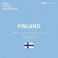 『フィンランドの合唱曲集〜シベリウス、サーリアホ、ラウタヴァーラ、リンコラ、他』 マルクス・クリード&シュトゥットガルト声楽アンサンブル
