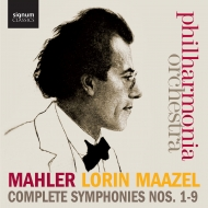 交響曲全集(第1番〜第9番) ロリン・マゼール&フィルハーモニア管弦楽団(15CD)