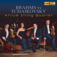 ブラームス:弦楽四重奏曲第1番、チャイコフスキー:弦楽四重奏曲第1番 アトリウム弦楽四重奏団
