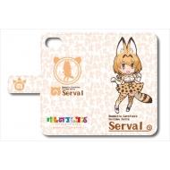 けものフレンズ 手帳型スマートフォンケース iPhone6/6s/7用(サーバル)