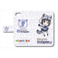 けものフレンズ 手帳型スマートフォンケース iPhone6/6s/7用(アライグマ)