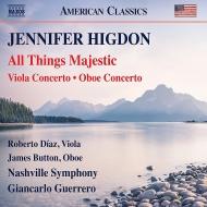 『全ては壮大な』、ヴィオラ協奏曲、オーボエ協奏曲 ジャンカルロ・ゲレーロ&ナッシュヴィル交響楽団、ロベルト・ディアス、ジェイムズ・バトン