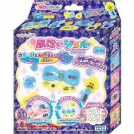 キラデコアート PGR-07 ぷにジェル 別売りカラージェル2色セット ブルー/イエロー