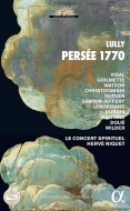 リュリ:歌劇「ペルセー」(全曲)〜1770年ヴェルサイユ版〜(2CD+BOOK) エルヴェ・ニケ、ル・コンセール・スピリチュエル