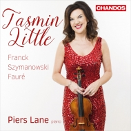 フランク:ヴァイオリン・ソナタ、シマノフスキ:ヴァイオリン・ソナタ、フォーレ:ロマンス、他 タスミン・リトル、ピアーズ・レーン