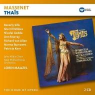 『タイス』全曲 ロリン・マゼール&ニュー・フィルハーモニア管、ビヴァリー・シルズ、ニコライ・ゲッダ、他(1976 ステレオ)(2CD)