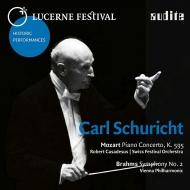 ブラームス:交響曲第2番、モーツァルト:ピアノ協奏曲第27番 カール・シューリヒト&ウィーン・フィル、ロベール・カサドシュ、ルツェルン祝祭管(1962、61)