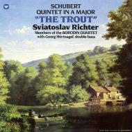 ピアノ五重奏曲「ます」:スヴィヤトスラフ・リヒテル(ピアノ)、ボロディン弦楽四重奏団員 (180グラム重量盤レコード/Warner Classics)