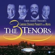 「3大テナー・イン・コンサート1994」:パヴァロッティ、ドミンゴ、カレーラス、ズービン・メータ指揮 (2枚組/180グラム重量盤レコード/Warner Classics)
