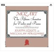 ヴァイオリン・ソナタ集第1集 ヨゼフ・シゲティ、ミエチスラフ・ホルショフスキ(2CD)