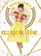 「2nd LIVE TOUR 2016 az you like...」LIVE Blu-ray