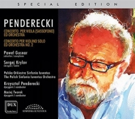 (Saxophone)viola Concerto, Violin Concerto, 2, : Gusnar(Sax)Krylov(Vn)Penderecki / Tworek /