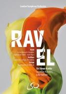 ラヴェル:『ダフニスとクロエ』第2組曲、デュティユー:夢の樹、メタボール、他 サイモン・ラトル&ロンドン交響楽団、レオニダス・カヴァコス、他(+BD)