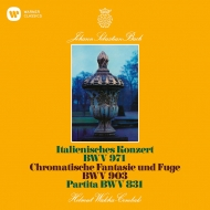 バッハ(1685-1750)/Italian Concerto French Overture Chromatic Fantasy & Fugue: Walcha(Cemb) (Uhqcd)