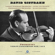 ヴァイオリン協奏曲第1番、第2番:ダヴィド・オイストラフ(ヴァイオリン)、マタチッチ指揮&ロンドン交響楽団、他 (180グラム重量盤レコード/Warner Classics)