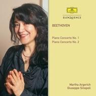 ピアノ協奏曲第1番、第2番 マルタ・アルゲリッチ、ジュゼッペ・シノーポリ&フィルハーモニア管弦楽団