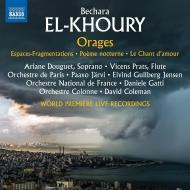 『嵐』『空間の断片』、他 パーヴォ・ヤルヴィ&パリ管弦楽団、ダニエーレ・ガッティ&フランス国立管弦楽団、他