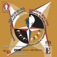 ウォルトン:ヴァイオリン協奏曲、ブリス:ヴァイオリン協奏曲 ロレイン・マカスラン、マーティン・イエーツ&BBCコンサート管弦楽団