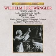 マーラー:さすらう若者の歌、R.シュトラウス:4つの最後の歌 ヴィルヘルム・フルトヴェングラー&ウィーン・フィル、フィッシャー=ディースカウ、フラグスタート、他