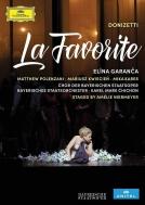 『ファヴォリータ』全曲(フランス語) ニーアマイア演出、チチョン&バイエルン国立歌劇場、ガランチャ、ポレンザーニ、他(2016 ステレオ)(2DVD)