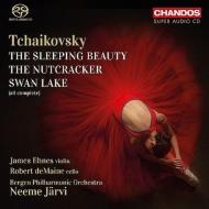 『白鳥の湖』全曲、『くるみ割り人形』全曲、『眠りの森の美女』全曲 ネーメ・ヤルヴィ&ベルゲン・フィル(5SACD)