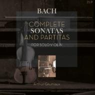 無伴奏ヴァイオリンのためのソナタとパルティータ全曲:アルテュール・グリュミオー(ヴァイオリン)(2枚組アナログレコード/Vinyl Passion Classical)