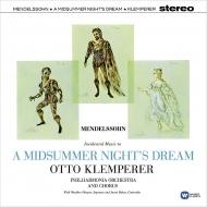 「真夏の夜の夢」より:オットー・クレンペラー指揮&フィルハーモニア管弦楽団 (180グラム重量盤レコード/Warner Classics)